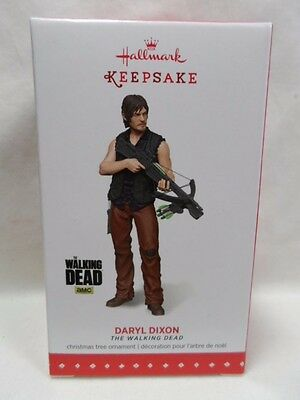 2015 Hallmark Keepsake Ornament Daryl Dixon The Walking Dead B51