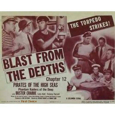 Pirates of the High Seas - Cliffhanger Movie Serial DVD Buster Crabbe