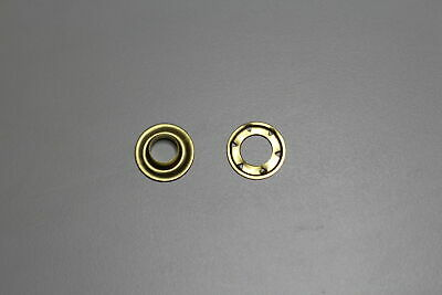 Solid Brass AUSTRALIAN MADE SP7 Eyelets and Spur Washers 50 sets