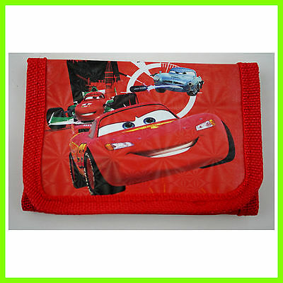HOT Pixar Cars McQueen Children's Kids Boys Coins Purse Wallet Bag Birthday Gift