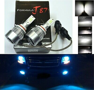 LED Kit G5 80W 9005 HB3 6000K White Two Bulbs Head Light Dual Beam Replacement