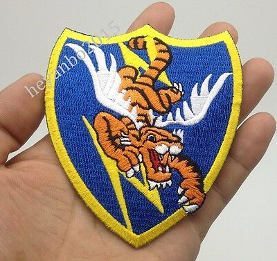 Wwii Us Air Force Flying Tigers Avg Badge Pilot Flying Patch