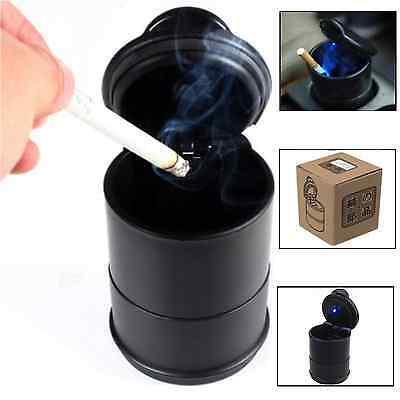Portable Car Truck Van Led Ashtray Travel Cigarette Smoke Holder With Carry