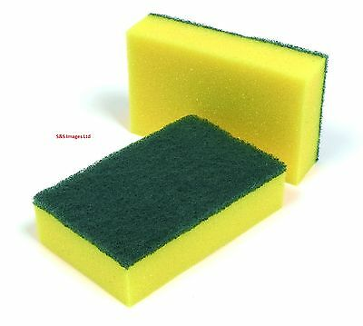 Heavy Duty Sponge Cleaning Supplies Catering Scourer Scourer Pad Kitchen Sponges