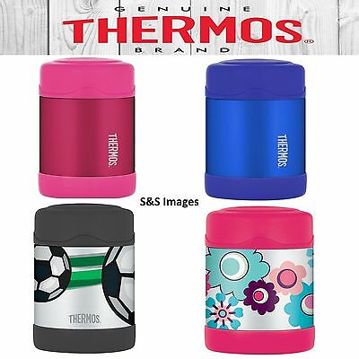 Thermos FUNtainer Stainless Steel Insulated Food Flask for Kids 290ml Lunch Box