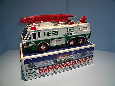 Hess Toy Truck - 1996 Emergency Truck with Graphics Bag