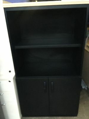 Metal Cupboard Bookcase Shelving Storage Office Furniture