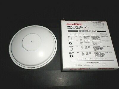 **new In Box**  Chemetron 623 Fire Detection Heat Detector Head Series 600