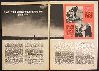 Flying Saucers can Injure You 1968 O.O. Binder article