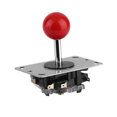Classic 4/8 way Arcade Game Joystick Ball Joy Stick Red Ball Replacement LO