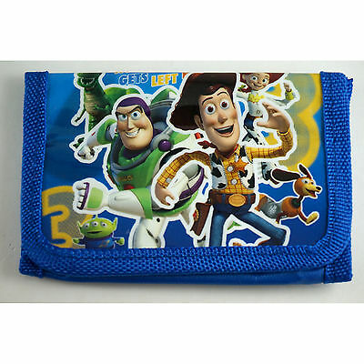 NEW Toy Story Buzz & Woody Children's Kids Boys Coins Purse Wallet Bag Gift