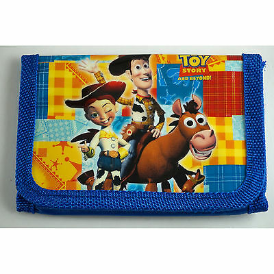 HOT Toy Story Buzz & Woody Children's Kids Boys Coins Purse Wallet Bag Gift