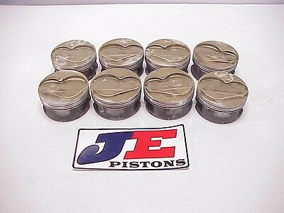 JE Coated Dome Pistons from Steve Kinser Racing for SB Chevy WOO Sprint Car R29