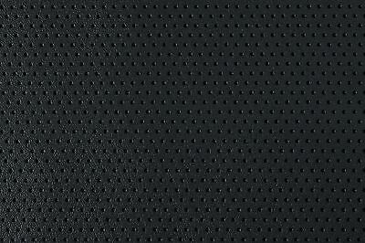 Black Perforated Textured Auto Home Faux Leather Vinyl Pleather Leatherette BTY