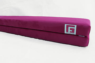 Professional 8Ft Folding Gymnastic Beam By Gym Factor Ltd Hot Pink Free Postage