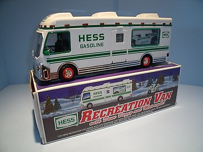 Hess Toy Truck - 1998 Recreation Van with Dune Buggy & Motorcycle