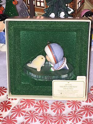 Hallmark Ornament 1983 FROSTY FRIENDS 4th in Series In BOX with TAG