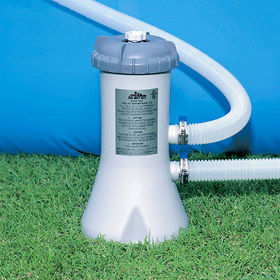 Intex Pump and Filter System for 8' - 12' Pools (530 gal/hr)