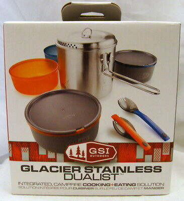 GSI Glacier Stainless Dualist Cookset