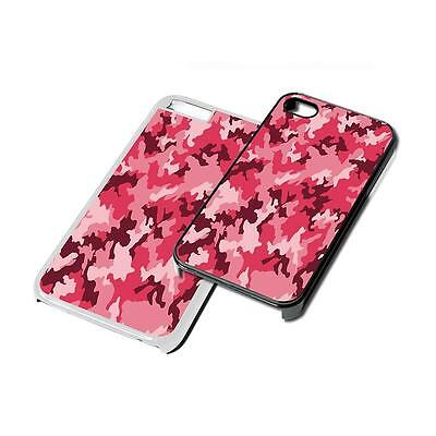 Camo Army Pink Phone Case Cover for iPhone 4 5 6 7 8 X iPod iPad Galaxy S6 S7 S8