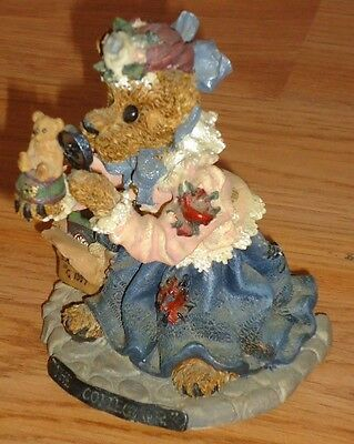 Boyds Bearstone THE COLLECTOR 1998 w/Box #227707
