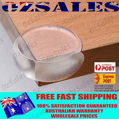 10 x Child Baby Safety Silicone Protector Table Corner Edge Protection Cover S