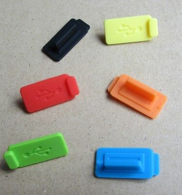 Silicone Rubber Protective Anti-Dust USB Plug Cover Stopper for Laptop Computer