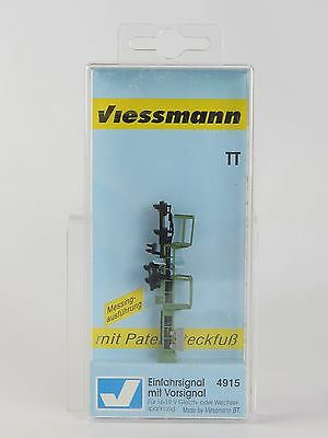 4915 VIESSMANN - ESCALA TT - SEMAFORO ENTRADA PRECAUCION / TT Colour light entry