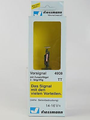 4908 VIESSMANN - ESCALA TT - SEMAFORO DISCO/BRAZO MOVIL LED / TT Semaphore dista