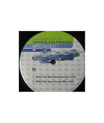 """[GX10173] Space Invaders (7) """"Watch Out""""  - 12"""" V2 Records VVR5002496"""