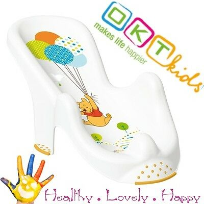 Anatomic baby bath  chair tub seat  DISNEY white OKT Kids -IML techn. Brand NEW