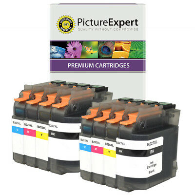 LC225XL / LC227XL Compatible High Capacity Black & Colour 8 Ink Cartridge Pack