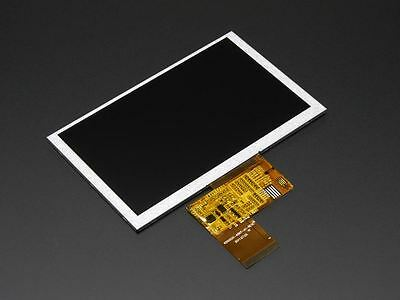 "Adafruit 5.0"" 40-pin 800x480 TFT Display without Touchscreen [ADA1680]"