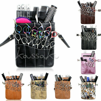 Professional Hairdressing Scissor Pouch Holster bag hairdresser stylis tool belt