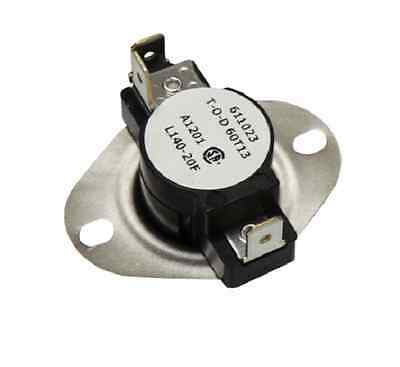 Supco LD140 SPDT Limit Control Thermostat Snap Disc L140-20F **Free Shipping**