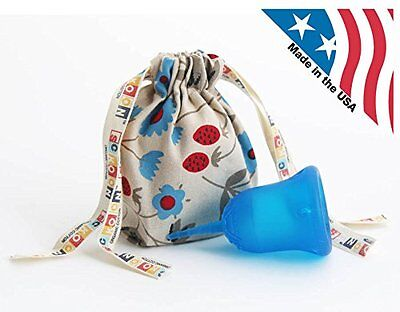 SckoonCup ECOPAC Made in USA & Organic Cotton Pouch - Sckoon Menstrual Cup size2
