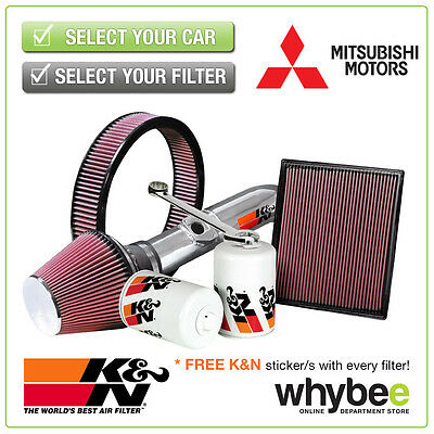 MITSUBISHI Pajero All K&N KN Performance Filters inc Air, Oil & Intake Kits