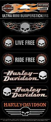 Harley Davidson Aufkleber-/Stickerset Modell Ultra Mini Bumpersticker