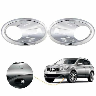 Nissan Qashqai fog light cover chrome / Left&Right BA46LR