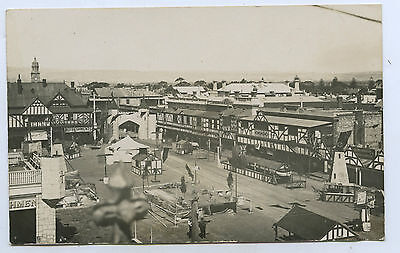 1920 Rp Npu Postcard Jetty Road Glenelg Decorated For Prince Of Wales Visit F19