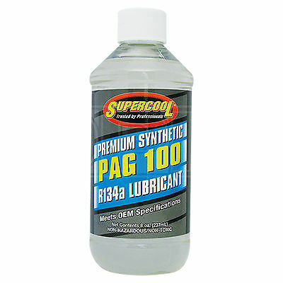 Supercool PAG 100 Synthetic Air Conditioning Lubricant R-134a R134a - 237ml 8oz