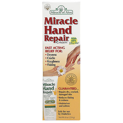 Miracle Of Aloe Hand Repair Cream 224g