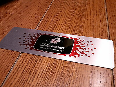Midway Coin Door Plate - Fun is Our Business