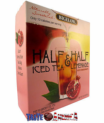 Bigelow Iced Tea & Lemonade With Pomegranate Drink Mix 93g 6 Quarts End June 16