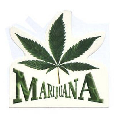 FUN - Marijuana 2 - Aufkleber Sticker - Neu #269 - Drugs Joint