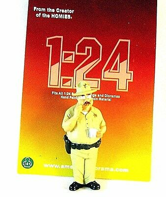American Diorama 1/24 Figure ,smokey -Trailer Park ,collector's Figure, New
