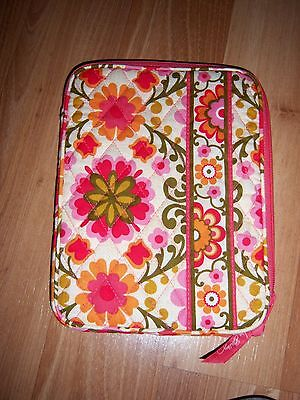 New Vera Bradley Folkloric Tablet Sleeve e-Reader Ipad Kindle Book case Nwot