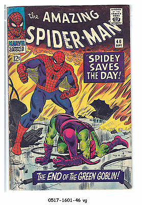 The Amazing Spider-Man #40 (Sep 1966, Marvel) vg