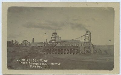 1910 Rp Npu Postcard Lord Nelson Mine St Arnaud During Solar Eclipse F27