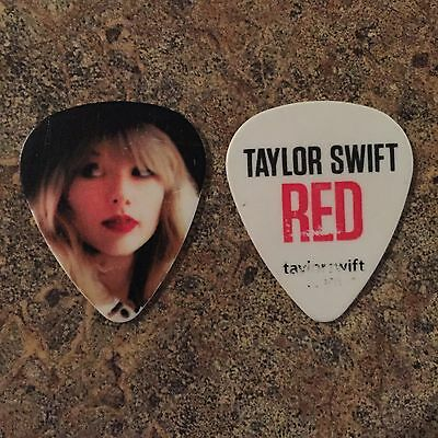 Taylor Swift Guitar Pick 2013 Red Tour